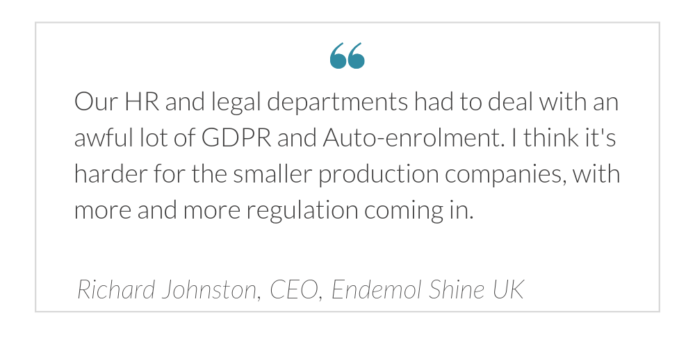 Richard Johnston on increasing regulation in the industry