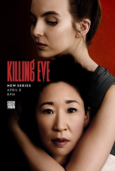 A promotional poster for Killing Eve
