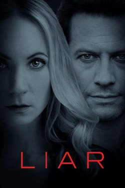 A promotional poster for Liar